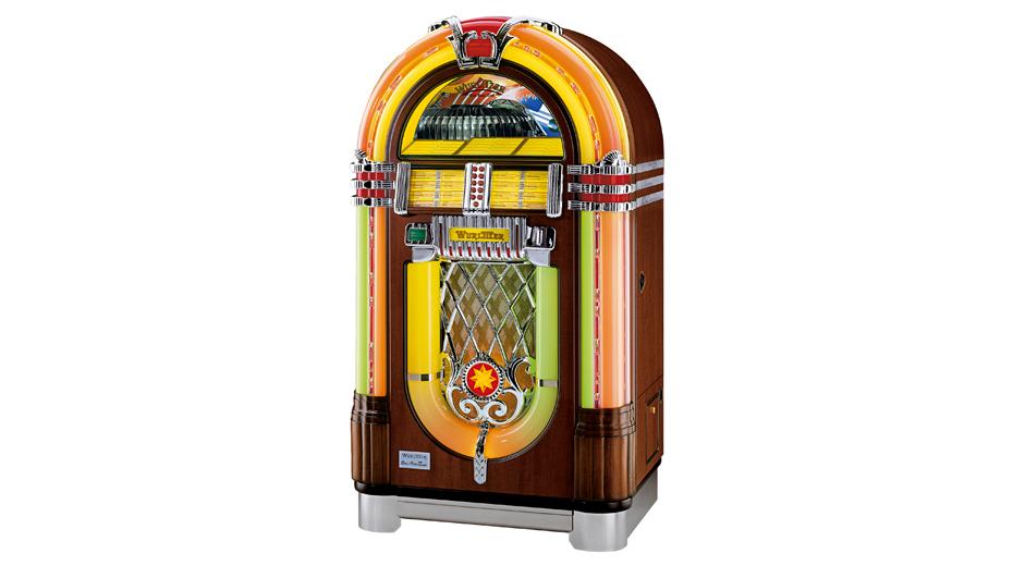 Games Wurlitzer OneMoreTime CD Jukebox Original Wood