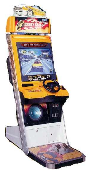 Crazy Taxi Arcade Machine Driving Game