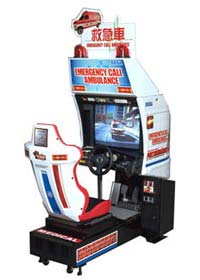 Emergency Call Ambulance Arcade Machine Driving Game
