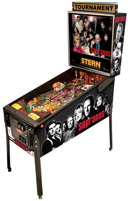 The Sopranos Pinball