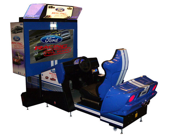Games Ford Racing Full Blown Deluxe Arcade Machine