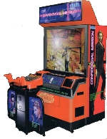 Confidential Mission Deluxe Arcade Machine Shooting Game