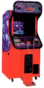 Crisis Zone Arcade Machine Shooting Game