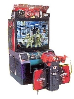 The House of the Dead 2 Deluxe Arcade Machine Shooting Game